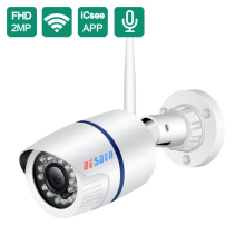 BESDER Ip-Camera Wired Alarm Cctv Sd-Card-Slot Bullet ONVIF Yoosee Wifi 720P 1080P P2P