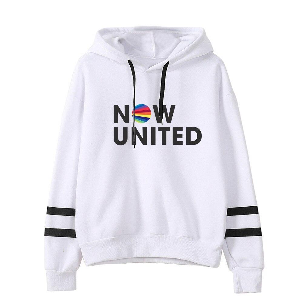 Now United Hoodie For Men Women Pocketless Sleeve Sweatshirt Harajuku Streetwear 2020 Hip Hop Style Fashion Clothes Plus Size|Hoodies & Sweatshirts|   - AliExpress