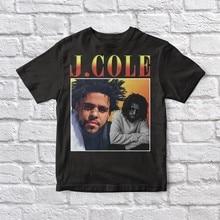 Camiseta preta unissex do vintage de j cole 90