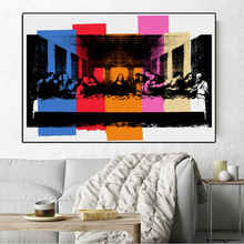 Print Painting Detail Of The Last Supper,C.1986 Pop Art Print Wall Painting Picture Home Abstract Decorative Art Picture недорого