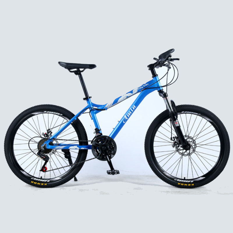 24-Inch Aluminum Alloy Bicicleta De Montaña21/24/27 Speed Double Disc Brake Female Off-Road Student Variable Speed Adult Bicycle