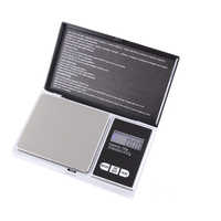 Mini balanza Digital, joyas de gramo de oro, peso gramos, escala 0,01g, Plata precisa