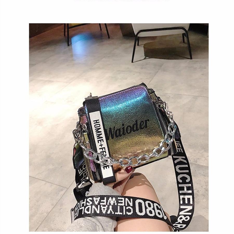 Handbag Shoulder Bags Tote Purse PU Leather  Neue Frauen Taschen Geldbörse Leder Handtasche Messenger Bag Laser Cross Body
