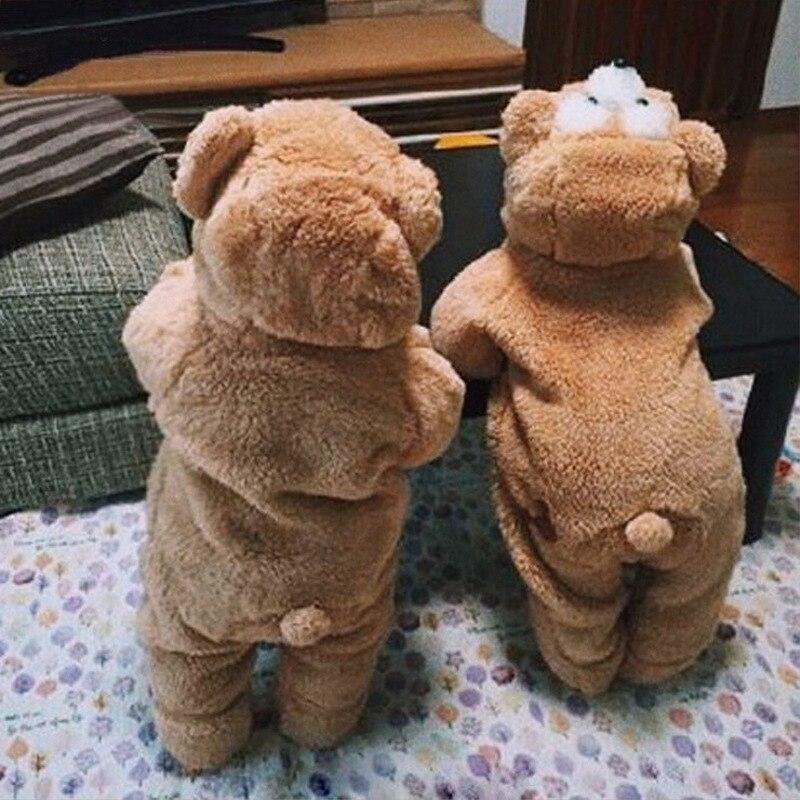 CYSINCOS Baby Onesie Rompers Newborn Hooded Inflant Clothing Boy Girl Pajamas Animal Jumpsuit Teddy Romper