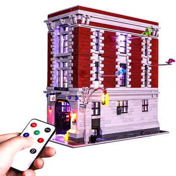 Vonado Battery Operated LED Light Building Block Accessory Kit for Ghostbusters Headquarters 75827 LED Included Only