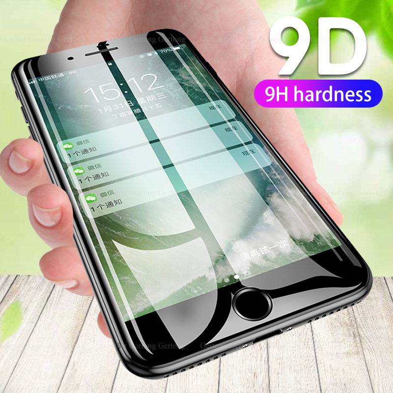 9D Premium Screen Protector For IPhone 11X XS MAX 11PRO Ultra-thin Shockproof Film For IPhone 6 6s 7 8 Plus XR 11 Pro Max 2019