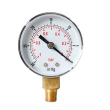 Best Selling Radial Vacuum Pressure Gauge High Quality Y50 Oil Water