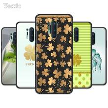Gold Glitter Clover Fitted Case for Oneplus