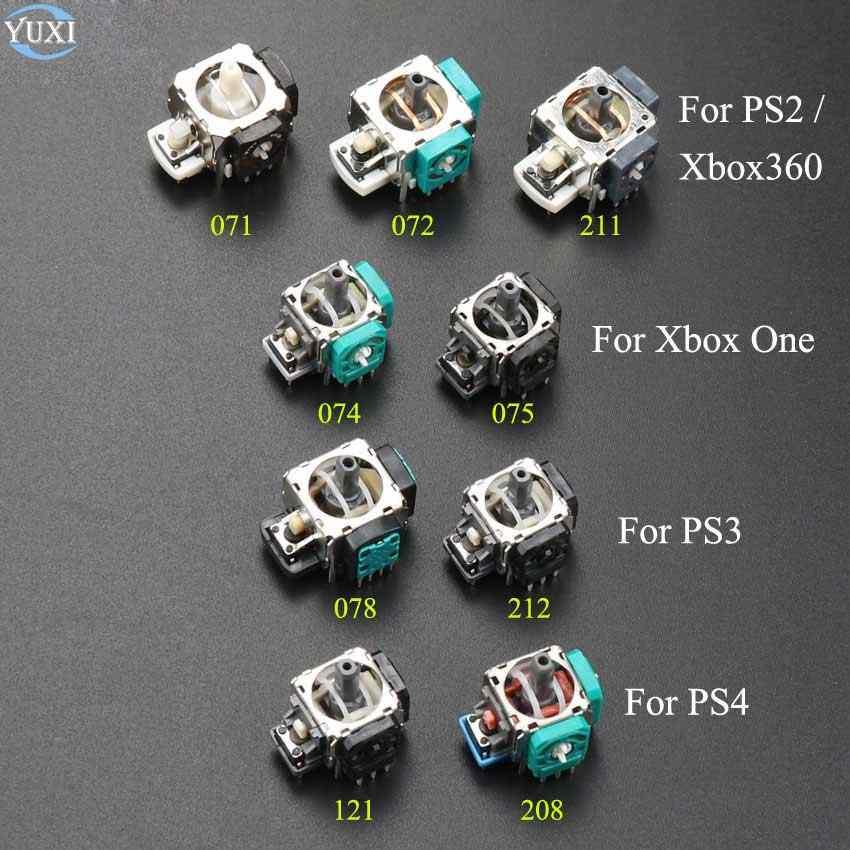 يوشي 1 قطعة ثلاثية الأبعاد التناظرية Grips العصي عصا التحكم وحدة الروك ل Xbox ONE Xbox360 تحكم بلاي ستيشن 2 3 4 PS2 PS3 PS4