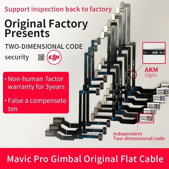 Origianl Gimbal Cable For DJI Mavic Pro Done Repair Parts