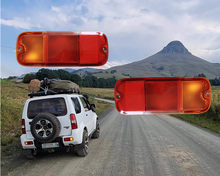 Auto Left / Right Rear Bumper Fog Ligt Fog Lamp For SUZUKI Jimny 2006 2007 2008 2009 2010 2011 2012 2013 2014 2015 2016 no bulbs