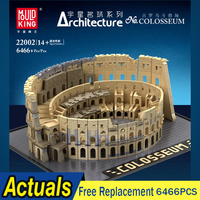 MOC Creator Expert Series European Market Bricks Old Colosseum Model Building Blocks Educational Toys For Children Fit 22002