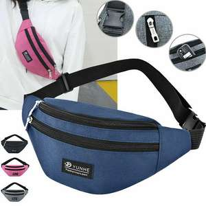 Purse Belt-Bag Chest-Pouch Waist-Pack Travel Multifunction Small Girls Women Unisex Casual