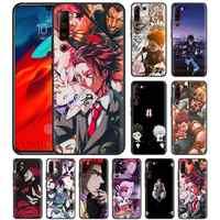 Hunter X Anime per il Caso di Lenovo Z6 Pro 5G Gioventù Lite Nero Tasche Del Telefono Del Silicone Della Copertura Z6Lite Z6Youth Z6Pro5G morbido Casos