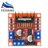 ¡Nuevo! Módulo de controlador de Motor paso a paso de CC con puente doble H de 10 Uds L298N para Arduino robot inteligente de coche