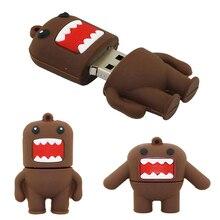 Pen-Drive 64GB USB Domo Kun Personalized Key-Stick USB2.0 Cle 8GB 256GB 32GB 128GB 16-Gb