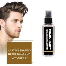 30ml extra-volume beleza spray estilo do cabelo spray não gorduroso não pegajoso naturalmente estilo ferramenta homem mulher estilo de cabelo spray