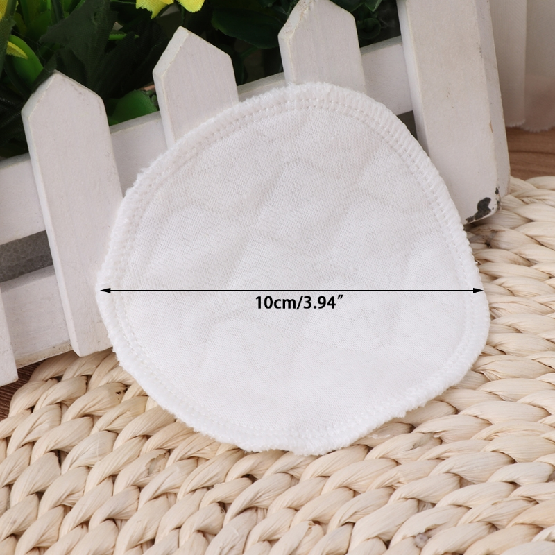 10Pcs Reusable Washable Breastfeeding Breast Nursing Pad Spill Proof Pregnant
