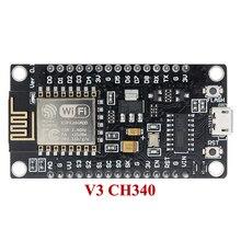 10ชิ้น/ล็อตNodeMcu V3 Lua WIFIการบนESP8266 Internet Of Things ESP12E CH340