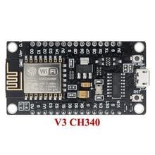 10 יח\חבילה NodeMcu V3 Lua WIFI פיתוח לוח המבוסס על ESP8266 אינטרנט של דברים ESP12E CH340