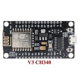 Image 1 - 10 قطعة/الوحدة NodeMcu v3 لوا WIFI مجلس التنمية على أساس ESP8266 إنترنت الأشياء ESP12E CH340
