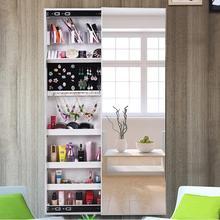 Зеркало для шкафа домашнее зеркало шкаф для хранения драгоценностей cloakroom стеновые боковые вытяжные настенные подвесной крепеж зеркало