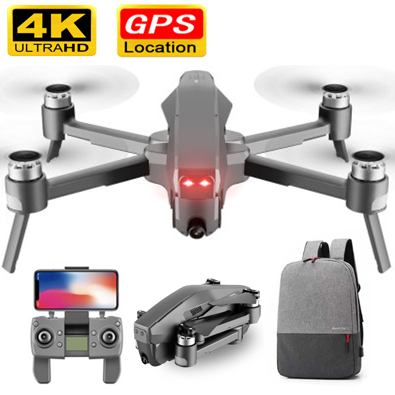 D4 <font><b>Drone</b></font> GPS Quadcopter HD 4K 1080P FPV 600M WIFI Live video 1.6KM control distance Flight 30 minutes <font><b>drone</b></font> with Camera Dron Toy image