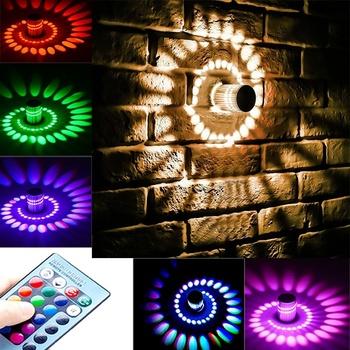 Kinkiet trwała lampa LED kontrolowana lampka nocna ekologiczny LED korytarz światła do przejścia kinkiet ekologiczny LED Home tanie i dobre opinie Mabor CN (pochodzenie)