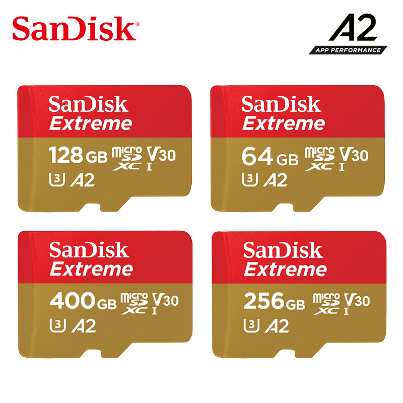 Sandisk Micro SD Card Class10 TF Card 16gb 32gb  64gb 128gb 200GB Memory Card For Action Cameras Or Drones Extreme MicroSD Card