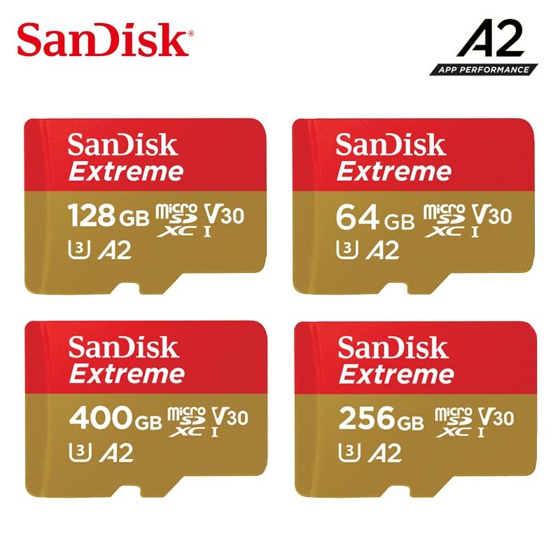 Sandisk Micro SD karte Class10 TF karte 16gb 32gb 64gb 128gb 200GB speicher karte für action kameras oder drohnen Extreme microSD karte