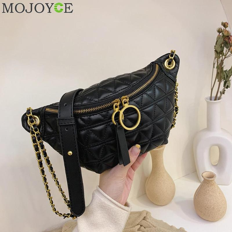 PU Leather Crossbody Bags For Women 2019 Chain Designer Shoulder Messenger Bag Lady Cell Phone Handbags And Purses