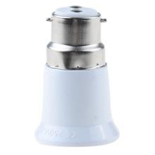 1 Piece B22 to E27 Fireproof Material lamp Holder Converter Socket light Bulb Base type Adapter недорого