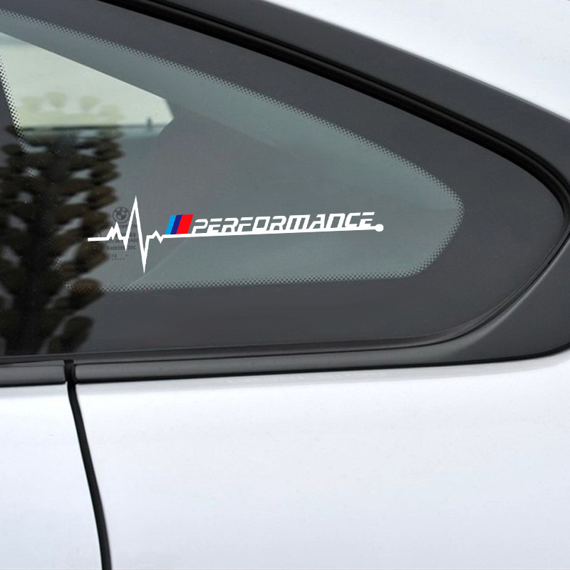 2PCS/Lot Car Side Window Stickers Decals For <font><b>BMW</b></font> F30 F20 F10 F31 F11 F34 <font><b>F01</b></font> F12 F18 F32 F33 F34 F35 X1 X3 X4 X5 X7 <font><b>Accessories</b></font> image
