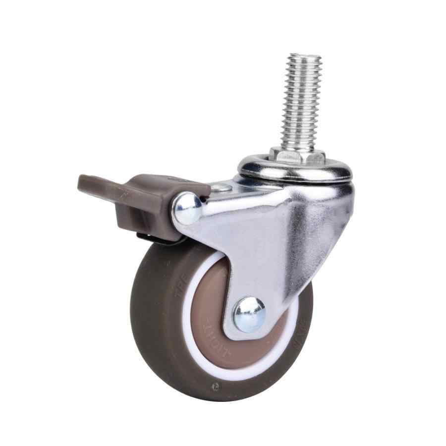 Bagasi Roda Penggantian Roda Koper Aksesoris Universal Kastor Bergulir Bagasi Koper Beroda Aksesoris Tas Kastor