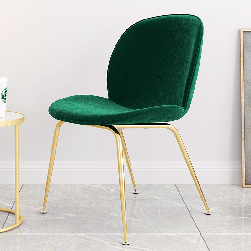 Chair Northern Europe Wind Desk Chair Concise Modern Originality Chair Household Light Luxurious Backrest Leisure Time Chair