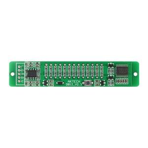 Image 4 - Atualizado v1.0 24 led nível indicador placa dinâmica sensível para vu metro tubo amplificadores alto falante acessórios kits diy dc12v