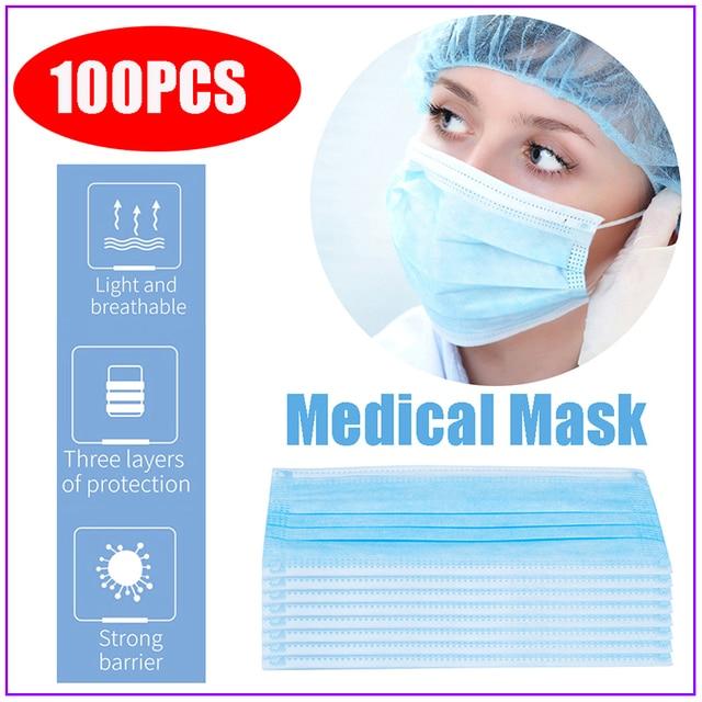 Men Women Cotton Anti Dust Maske Mouth Windproof Mouth-muffle Bacteria Proof Flu Face Masks распиратор от гриппа masques ffp3 3