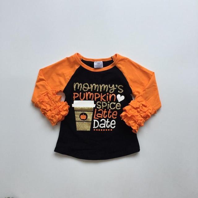 Halloween baby girls pumpkin spice everything nice