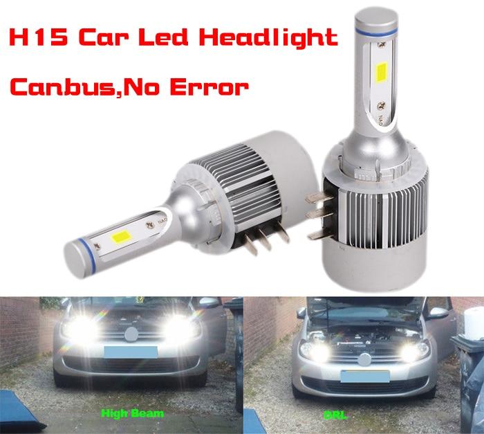 2x 7TH H11 LED Headlight Conversion Kit 72W 8000LM Fog Driving Light Bulbs 6500K