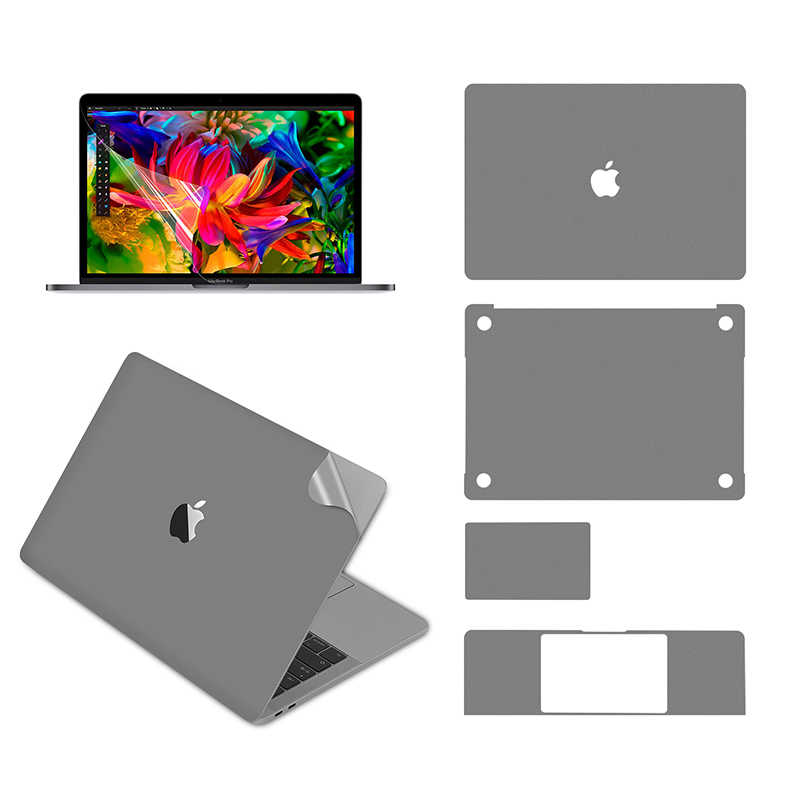 Lention Full Body untuk MacBook Pro (13 Inci, 2016-2019, dengan Port Thunderbolt 3), Full-Cover Pelindung Vinyl Decal Sticker