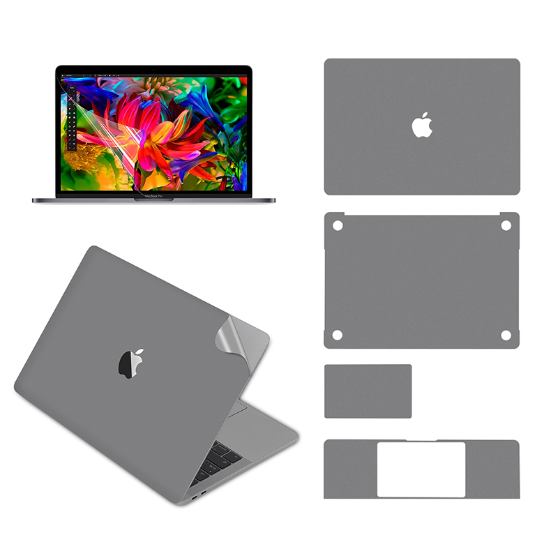 Lention Full Body Skin For MacBook Pro (13-inch, 2016-2019, With Thunderbolt 3 Ports), Full-Cover Protective Vinyl Decal Sticker
