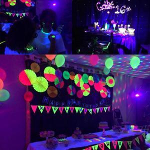 Image 5 - ดิสโก้DjเวทีLEDแสงUVอัลตราไวโอเลตParเลเซอร์ปาร์ตี้KTVคริสต์มาสฮาโลวีนSpotlightเครื่องไฟฉาย