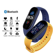 Pedometer Bracelet Bluetooth Sport Fitness Tracker Heart Rate Monitor Waterproof Wristwatch Women Men Smart Band for IOS Android(China)