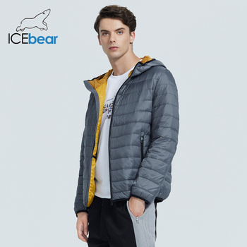 ICEbear 2020 New lightweight men's down coat stylish casual men jacket male hooded apparel  brand men clothing MWY19998D