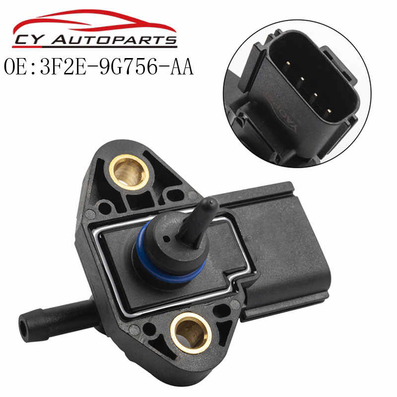 4 Pin Fuel Injection Rail Pressure Sensor MAP for Ford Lincoln 3F2E-9G756-AA