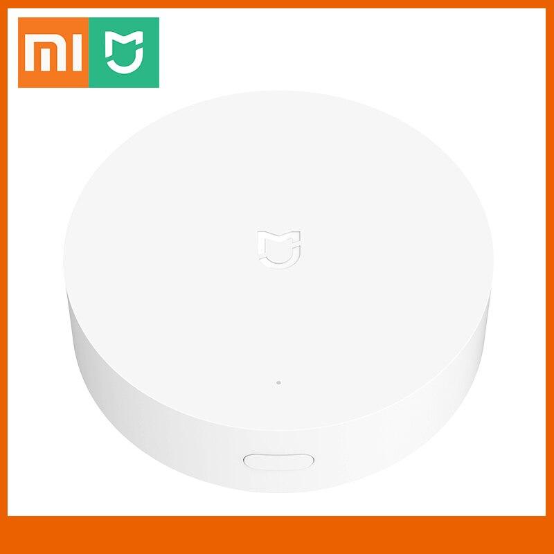 Шлюз Xiaomi Mijia для умного дома, многорежимный сетевой хаб с поддержкой Wi-Fi и Bluetooth, работает с приложением Mijia