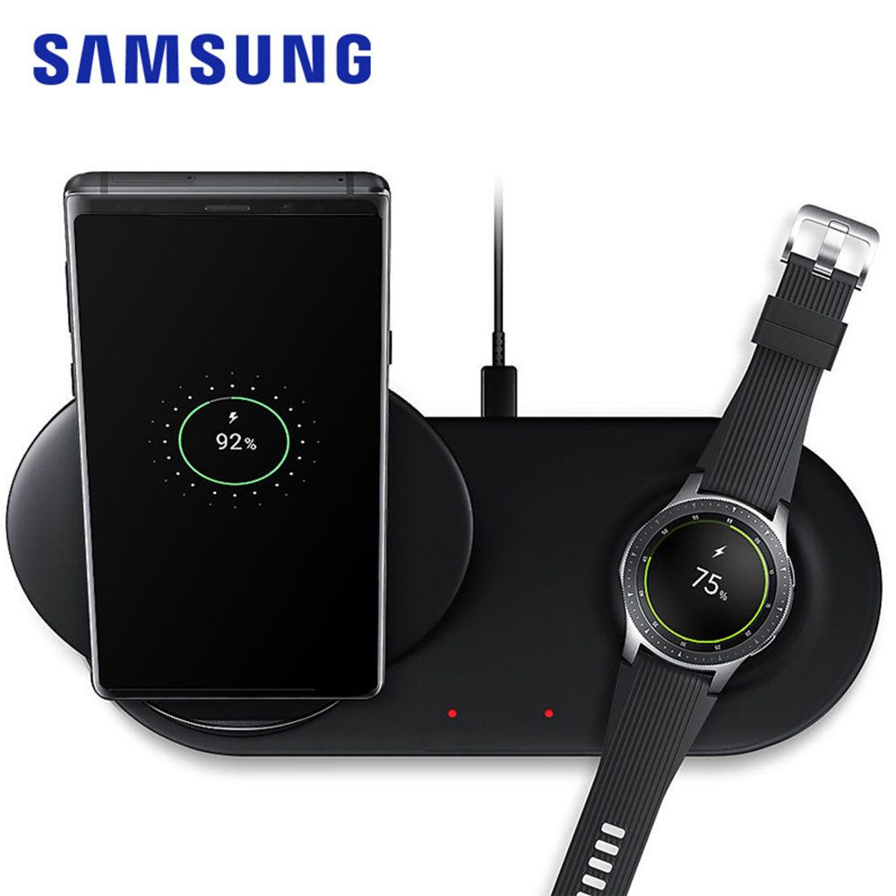 EP-N6100 25W Samsung Wireless Adaptive Fast <font><b>Charger</b></font> 2.0 Stand QI Adapter Pad For <font><b>Galaxy</b></font> S8 <font><b>S9</b></font> S0 Note 9 10 Watch Sports S2 S3 S4 image