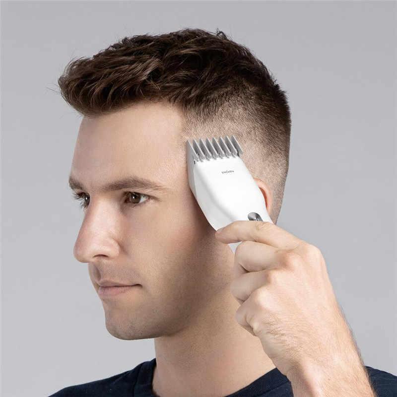 Cortadora de pelo eléctrica ENCHEN Boost, cortadora de pelo de cerámica de carga rápida sin cable profesional, cortadora de pelo para hombres y niños