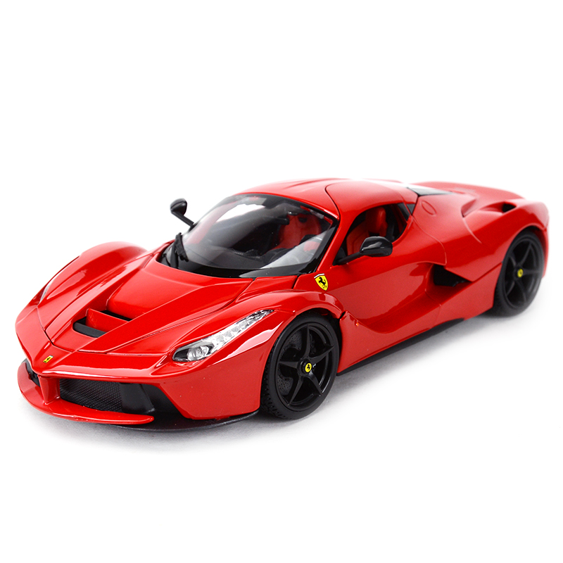 Bburago 1:18 Laferrari Sports Car Static Simulation Diecast Alloy Model Car