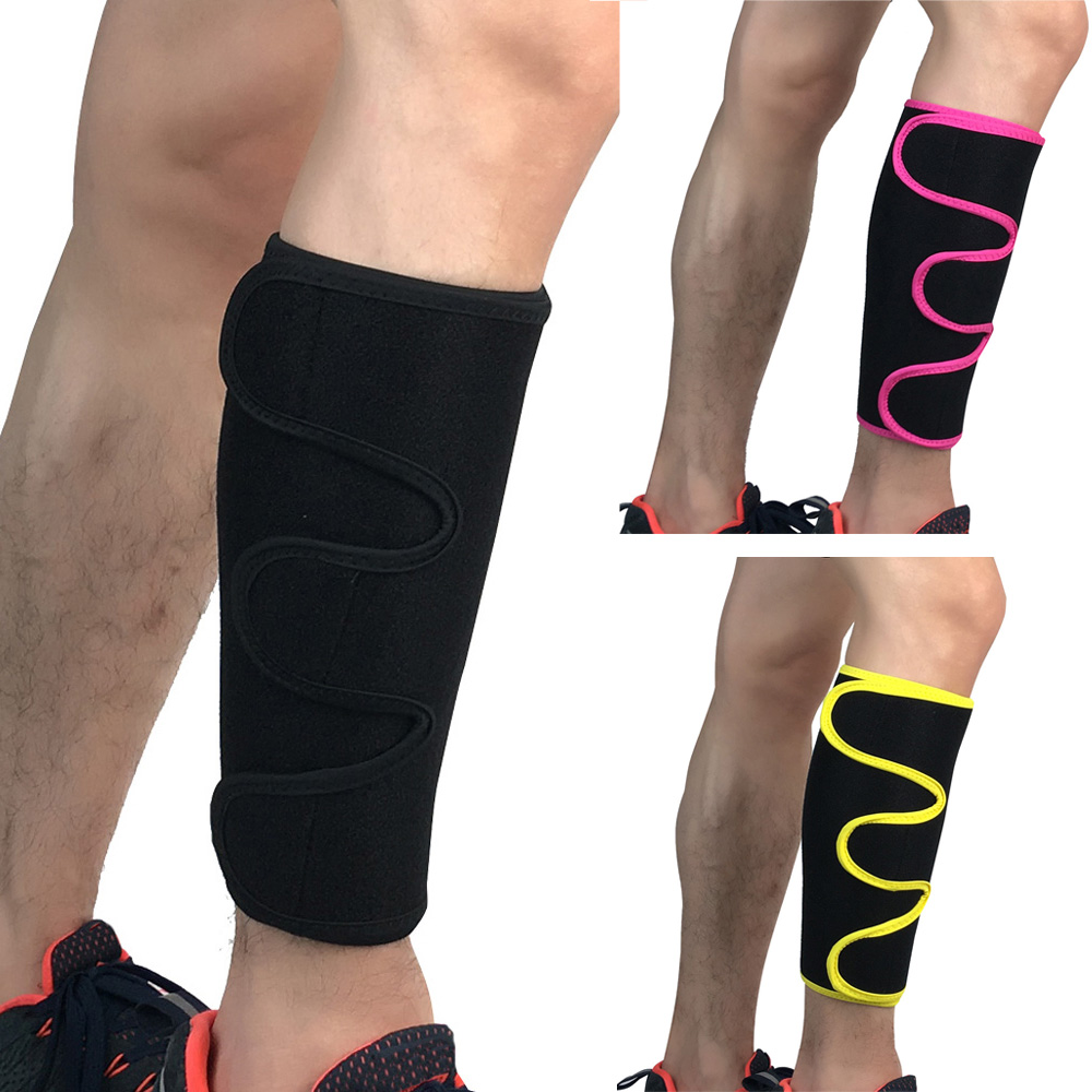 Protection Calf Legs Sleeve Adjustable Pressure Sport Leg Guards Protective Gear